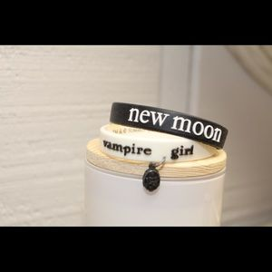 Jewelry - New Moon Rubber Wristbands